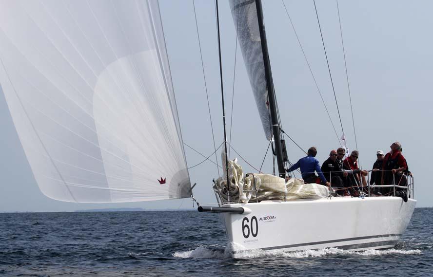Landmark 43 viste de danske IRC-sejlere hvor skabet skulle stå. Foto: Troels Lykke
