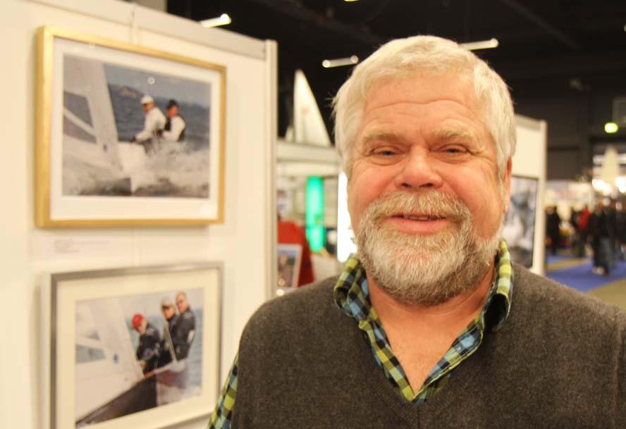 Oluf Grønkjær fra Aarhus var på Boat Show i Fredericia. Foto: Troels Lykke