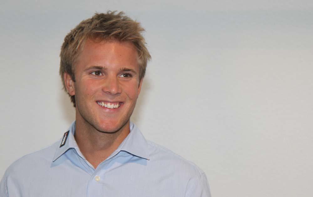 Thorbjørn Schierup er netop blevet kåret som Årets Talent 2010. Tager han en titel mere? Foto: Troels Lykke