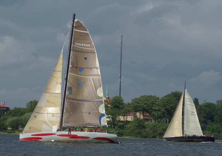 X-One skal sejle efter IRC mod Broskraberen, Big Challenge og Farr 40 blandt andet. Foto: Troels Lykke