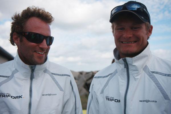Jes Gram-Hansen og Rasmus Køstner, th., vandt Danish Open sammen i 2009 på hjemmebane i Århus. Foto: Troels Lykke