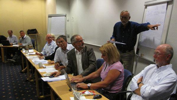 DS bestyrelse i september i Odense. Foto: Troels Lykke