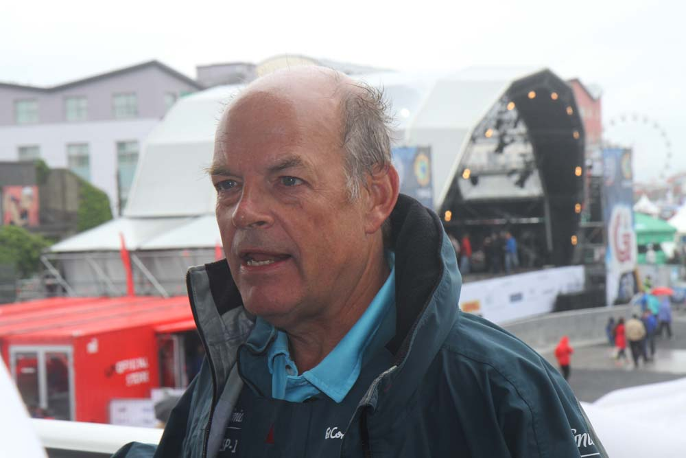 Henrik Søderlund fra Telefonica i Galway. Foto: Troels Lykke