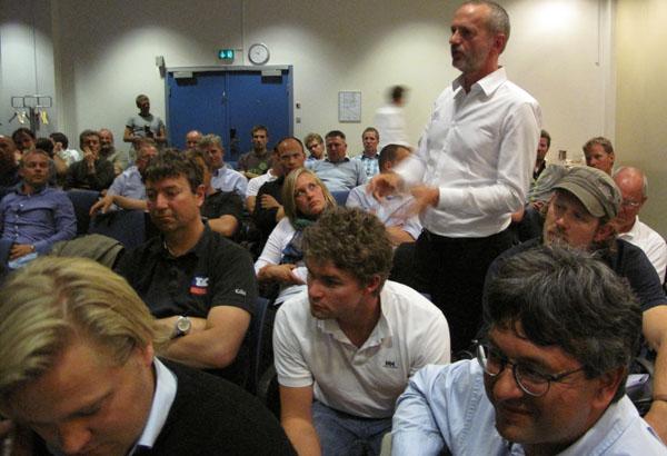 lerche i Odense til debat om sejlunionen