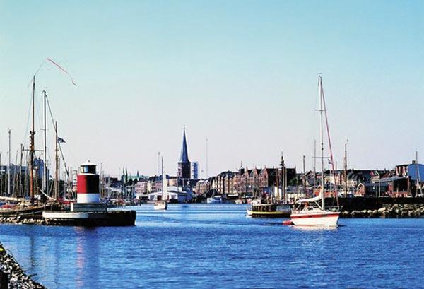 Når vejret er godt, er sejlerferie i Danmark toppen. Foto: visitdenmark.dk
