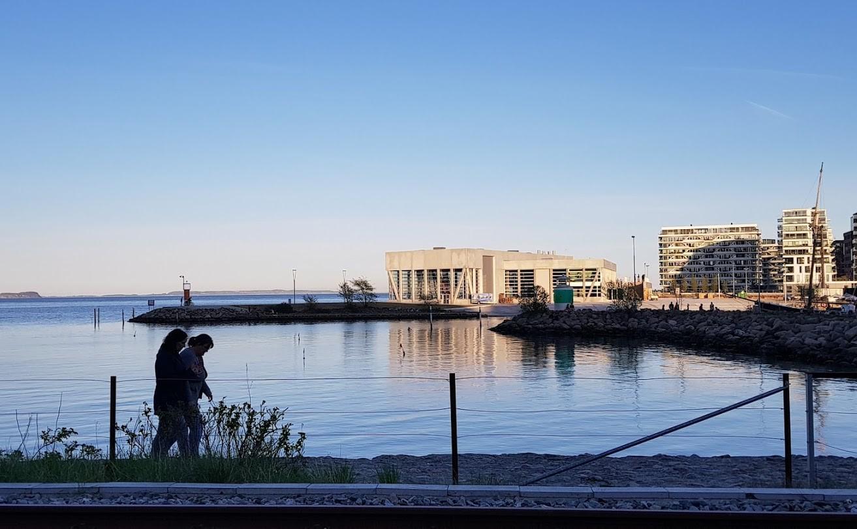Bæredygtighedsprogrammet ved VM i sejlsport er udviklet i samarbejde med Worldperfect. På billedet ses det nye sejlsportscenter. Foto: Troels Lykke
