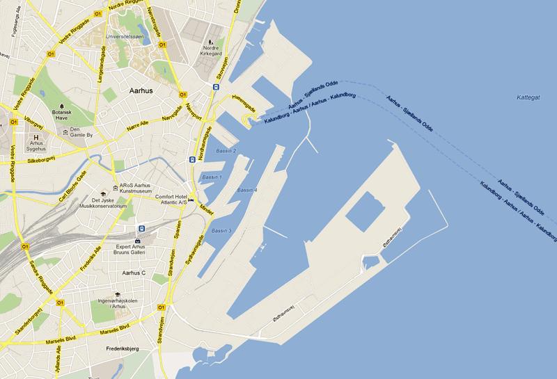 Aarhus er uden tvivl centrum for sejlsport i Danmark.