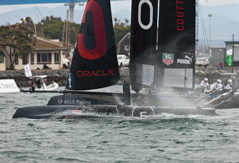 Mindre matchrace og mere fleetrace til ACWS. Foto: Gilles Martin-Raget (AC)