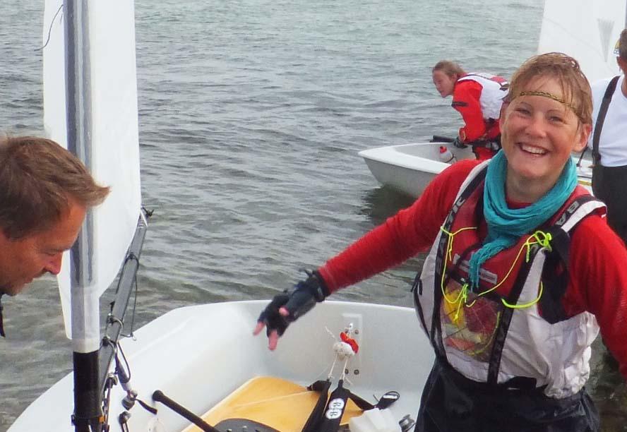 Guldvinder Anne Mette Laugsen har haft en god sæson i år. Foto: John Laugesen