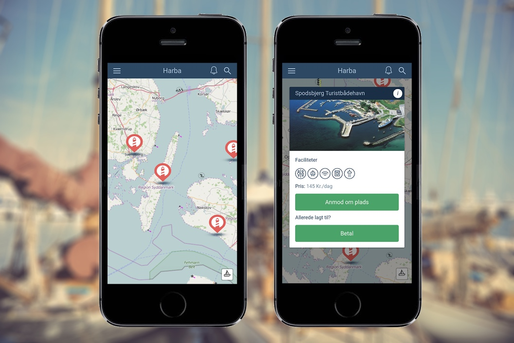 Sejlerne skal nu ikke længere ekstra havnepenge over mobilen. Foto: PR-foto