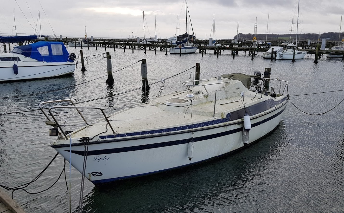Kasserede glasfibermaterialer kan anvendes kommercielt til isoleringsprodukter, viser ny rapport. Det vil en ældre båd som denne båd i Kerteminde nyde godt af. Foto: Troels Lykke