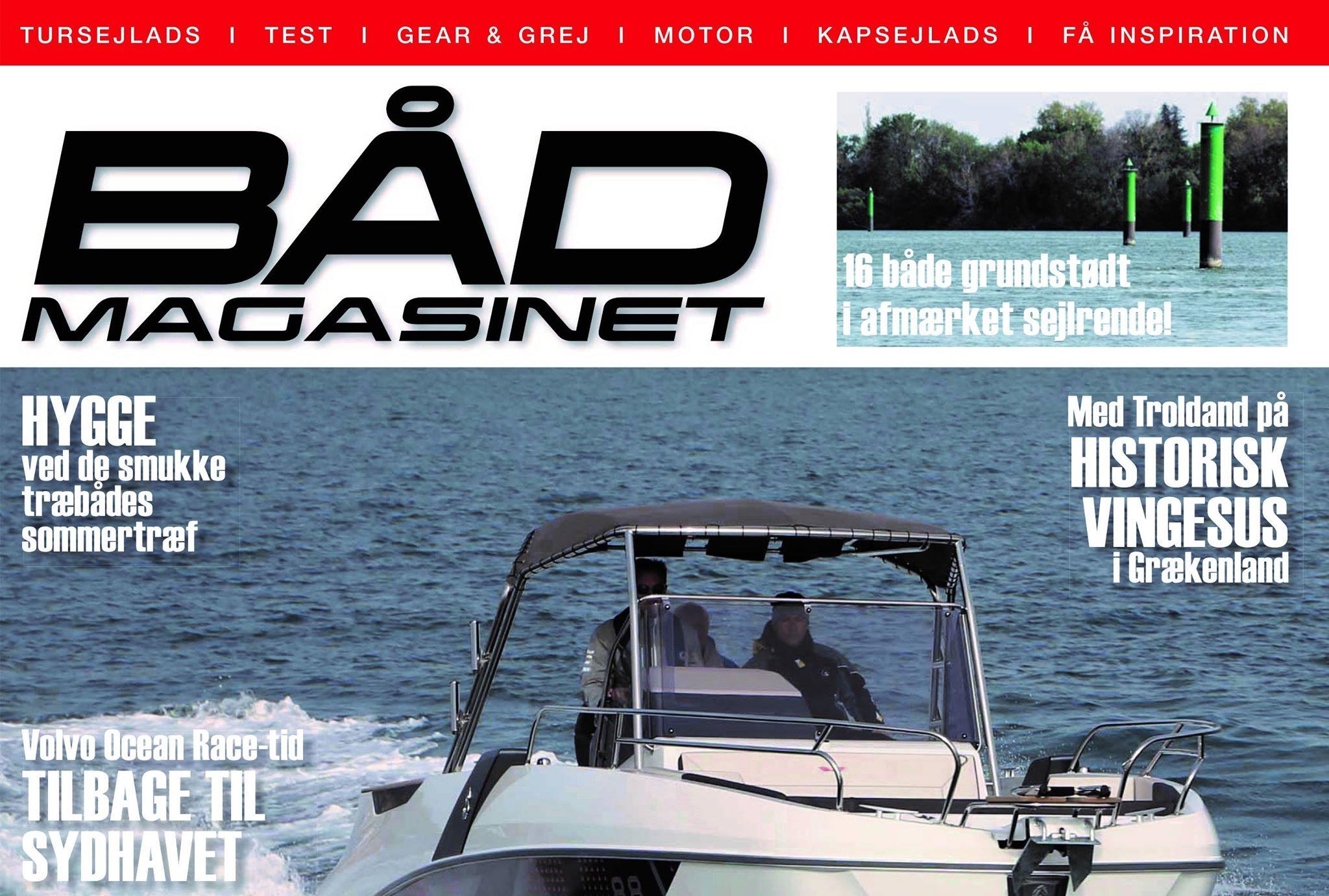 Bådmagasinet, minbaad.dk og motorbaadsnyt.dk bliver nu eneste deciderede bådmedier i Danmark. Vi ønsker vores kolleger i Rungsted tillykke.