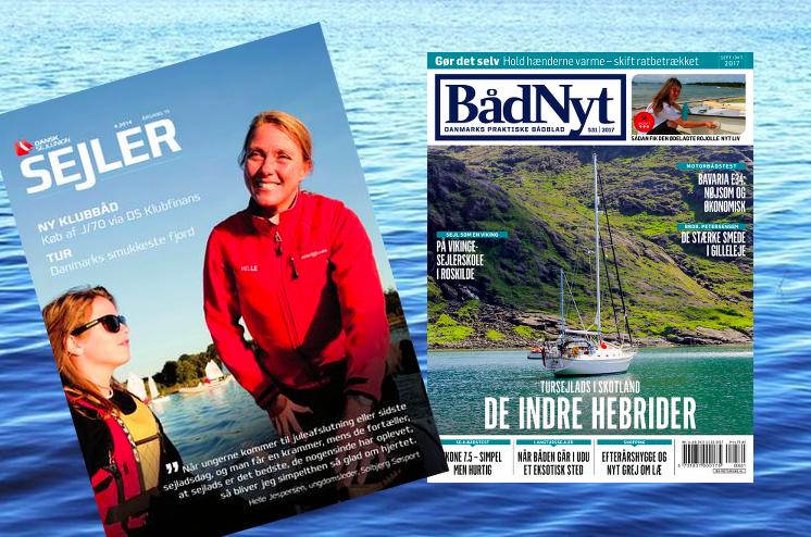 De danske sejlere må nu enten læse nyheder på nettet, i udenlandske medier eller i Bådmagasinet.