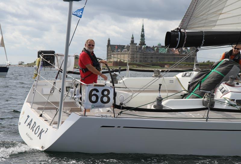 Erik Berth på Tarok er vinder af Danish BigBoat Series men ikke Baltic Circuit. Foto: Troels Lykk