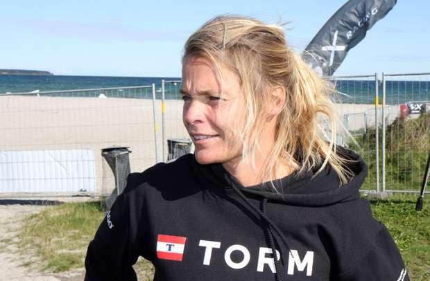 Bettina Honoré mistede motivationen aafter VM for RS:X i Kerteminde i 2010. Foto: Troels Lykke