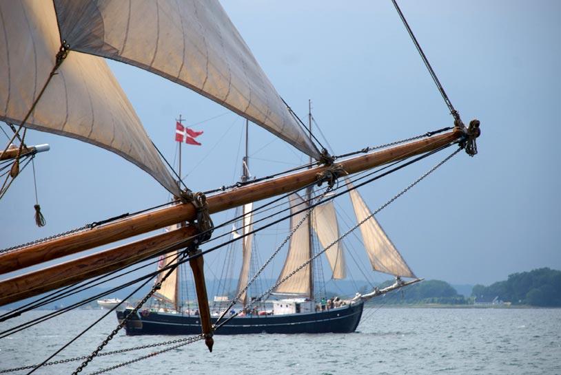 Brita Leth er af de både, der har fået penge fra Skibsbevaringsfonden.