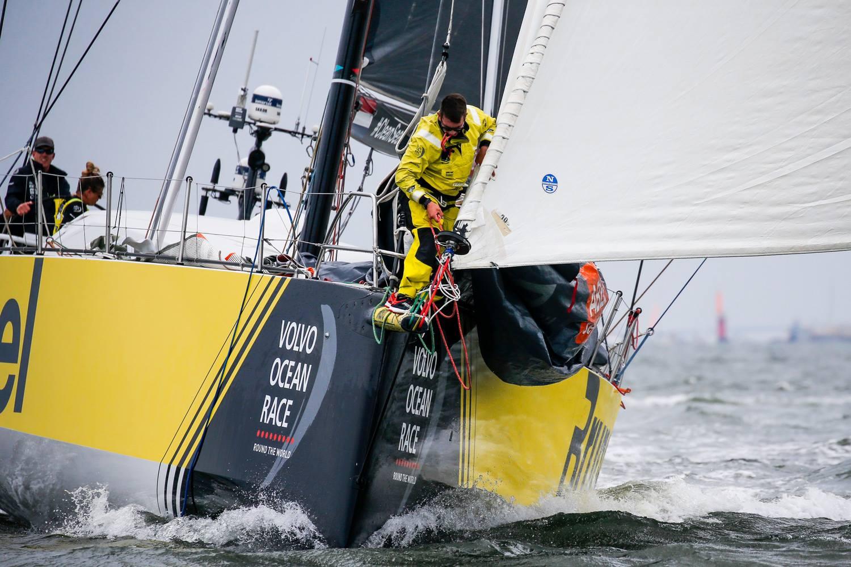 Volvo Ocean Race-sejlere som Nicolai Sehested ville være et oplagt bud på en OL-sejler i mixed oceansejlads. Her ses Brunel i Volvo Ocean Race.