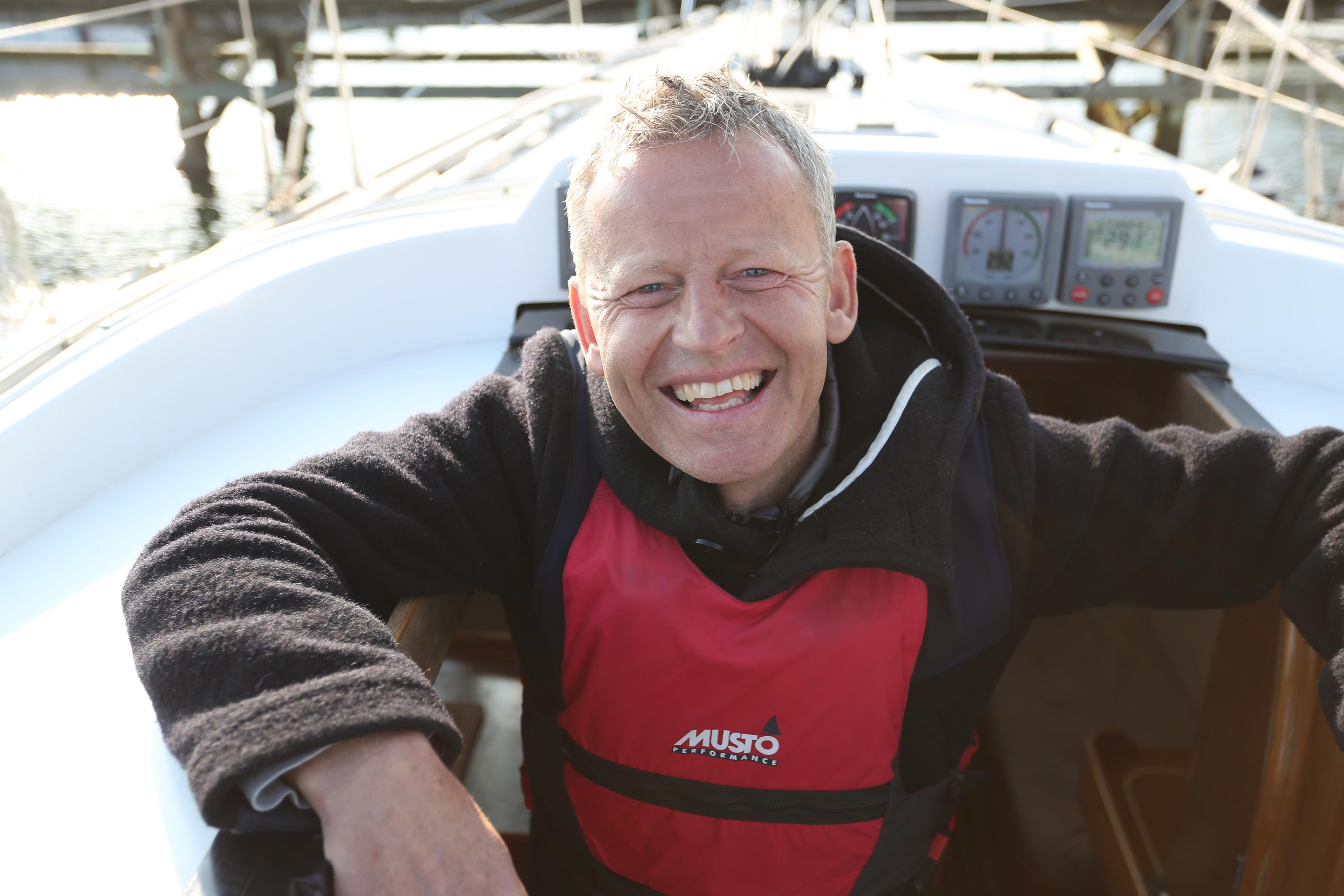 Bubber har taget vennerne med på vandet - og han opfordrer andre til at gøre det samme.