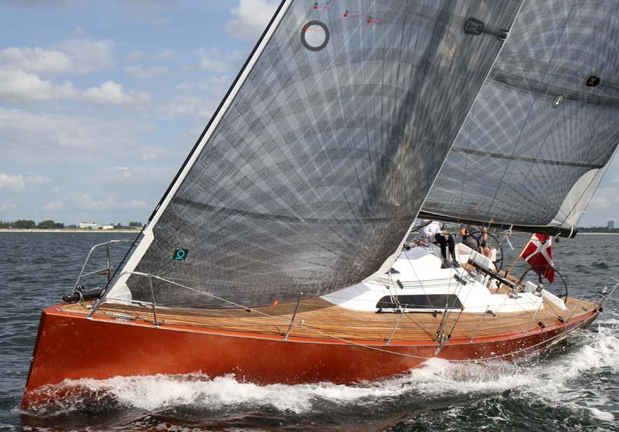Carbon 40 fra Køge Bugt med Jann Klausen har netop meldt sig til Classic Fyn Rundt. Foto: Troels Lykke