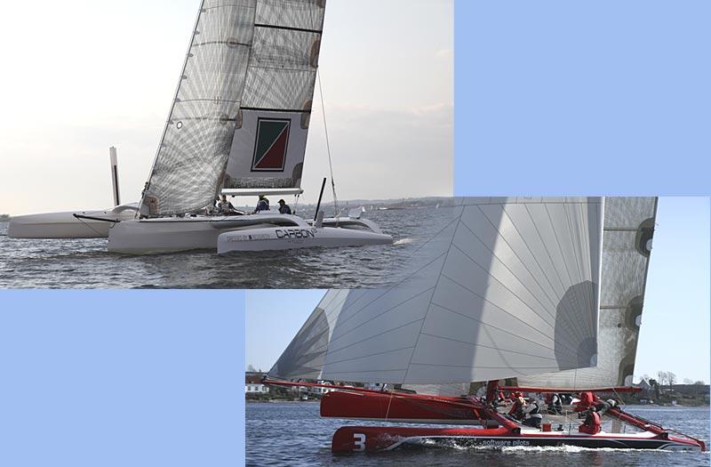 Øverst Carbon3 fra Faaborg og nederst til højre Extreme Challenger fra Aarhus. Kollage: Katrine Bertelsen