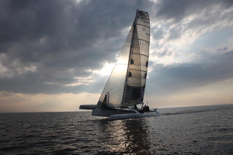 Du kan vinde en tur på Carbon3 med Jesper Bank ved roret. Foto: Carbon3