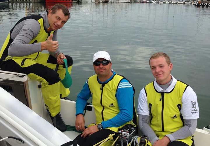 Fra venstre: Karl Kristensen, Claus Høj Jensen og Frederik Dahl Jensen. Foto: Anja Dahl Jensen