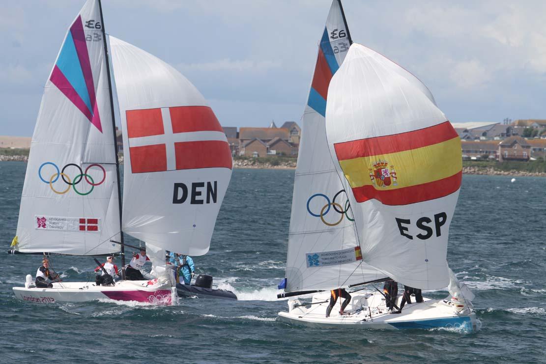 Lotte Meldgaard, Tina Gramkov og Susanne Boidin var til OL, hvor de blev nummer 10. Foto: Troels Lykke