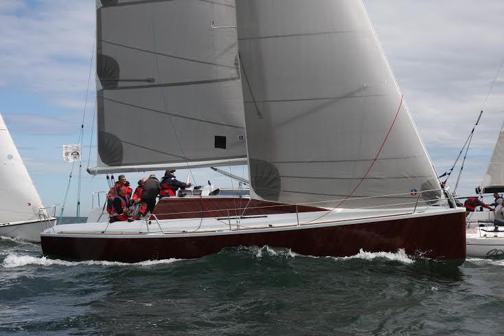 BIG sejles af fem til syv mand om bord. Her ses holdet under Classic Fyn Rundt fra Kerteminde. Foto: Troels Lykke