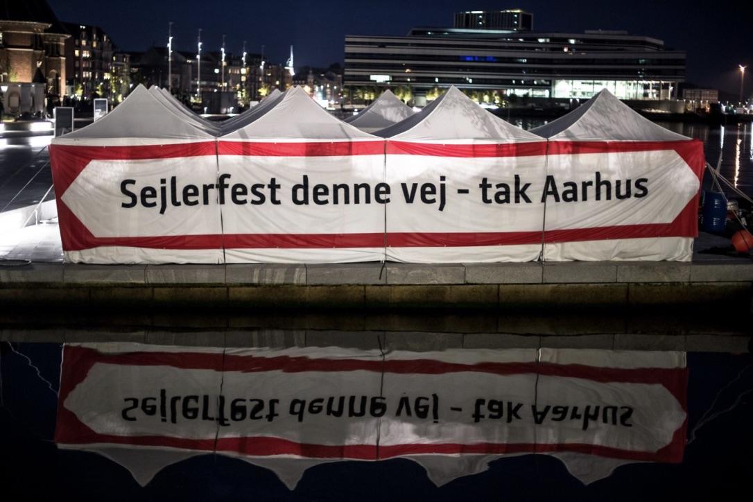 Sejlerfesten er begyndt i Aarhus. Foto: Sejlsportsligaen