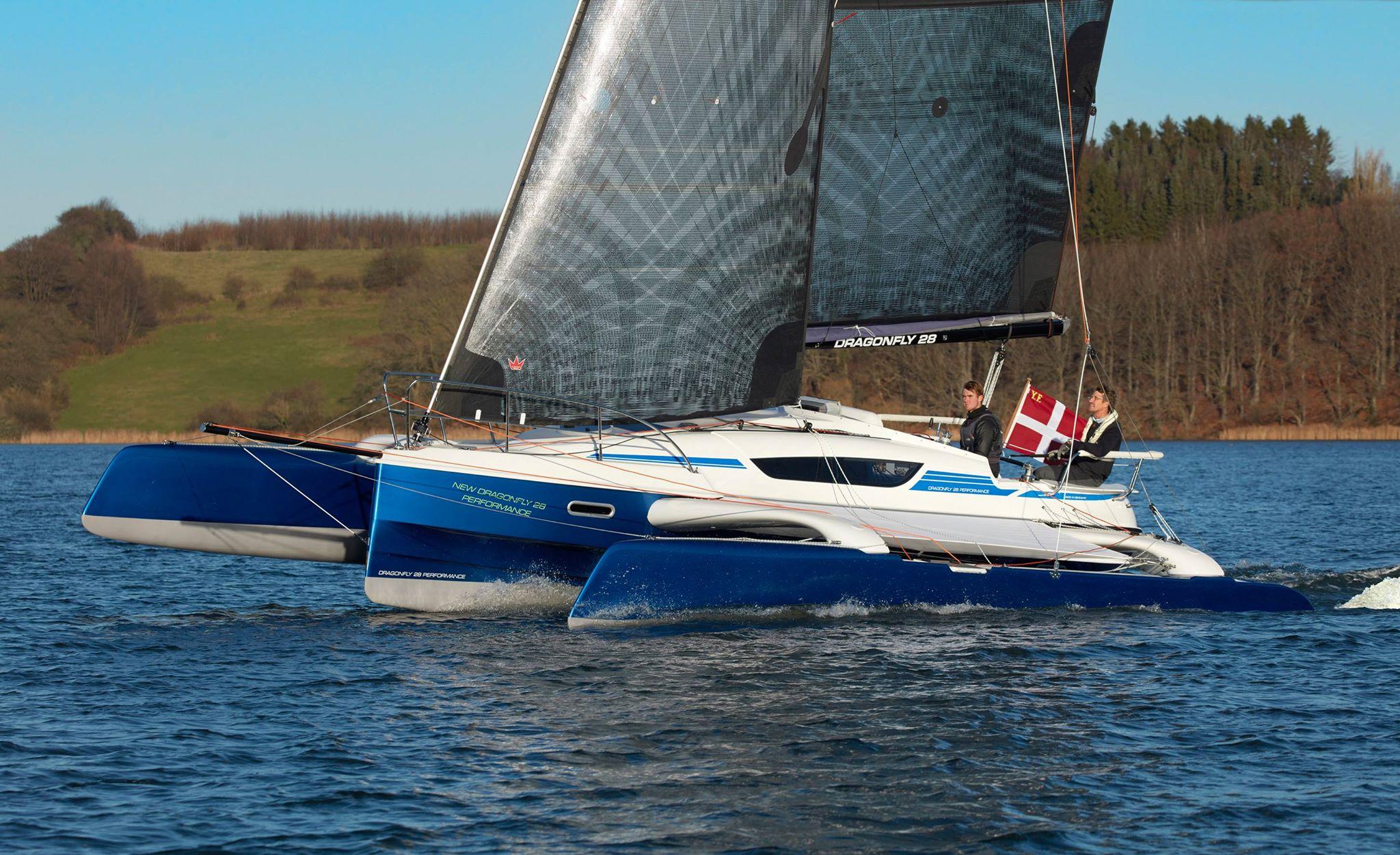 Dragonfly 28 Performance, nyeste version af den populære Dragonfly 28-serie, vises frem. Der er nu solgt 200 af bådtypen, forklarer Quorning Boats. PR-foto