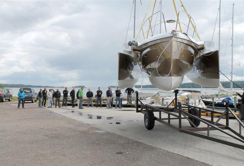 Dragonfly 32 til både tur og race - Minbaad dk