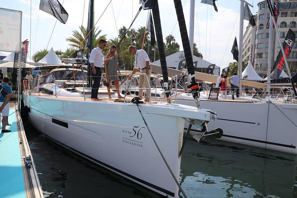 Dufour 56 Exclusive sejles med selvvende-fok, der skal gøre det lettere at sejle båden. Foto: Troels Lykke