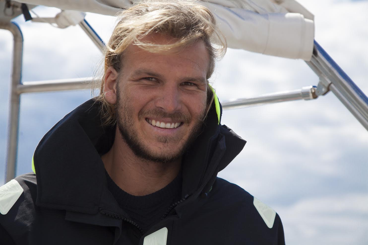 Emil Erichsen kom i sommer hjem fra sin tre år lange jordomsejling med broderen Theis. Foto: Boat Show
