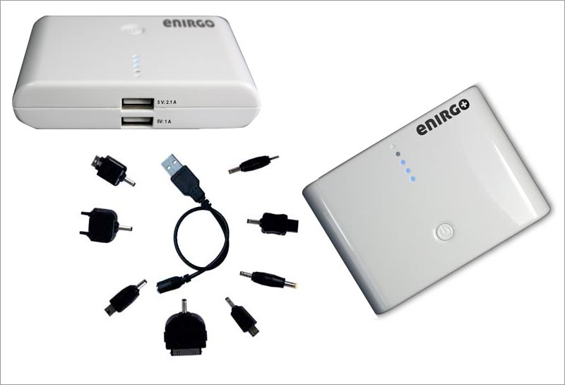 Batteriet vejer 188 gram og kan ligge i en lomme. Foto: enirgo.com