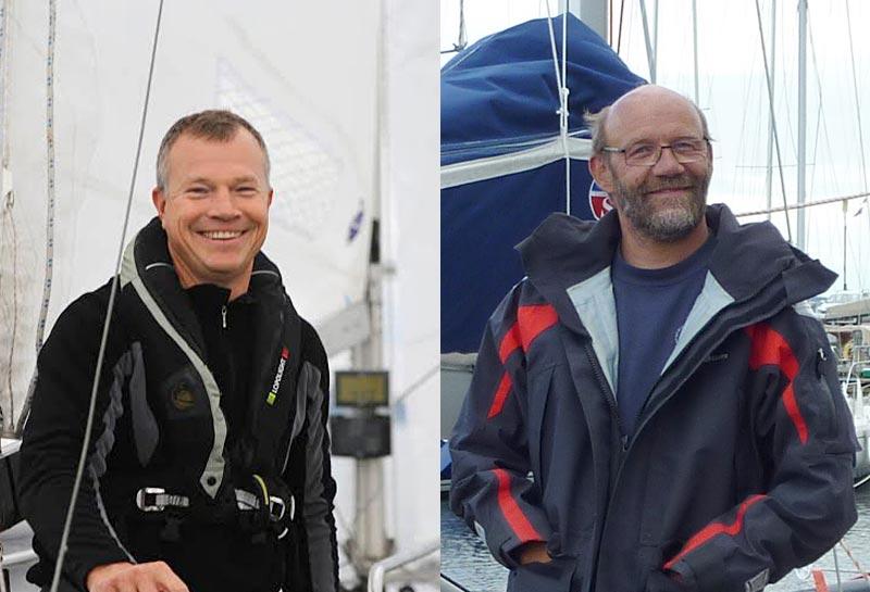 Det er Erik Venøbo (th) og Jan Møller der har taget initiativet til den nye singlehandforening. Fotos: Katrine Bertelsen og Troels Lykke