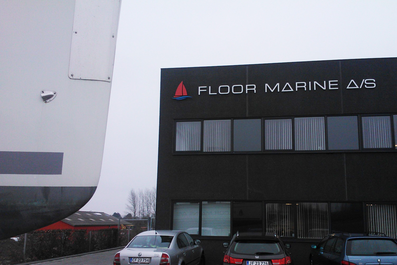 Aktiviteterne i virksomheden vil tage udgangspunkt i Floor Marines nybyggede lokaler på Stokagervej 23 i Risskov. Foto: Troels Lykke