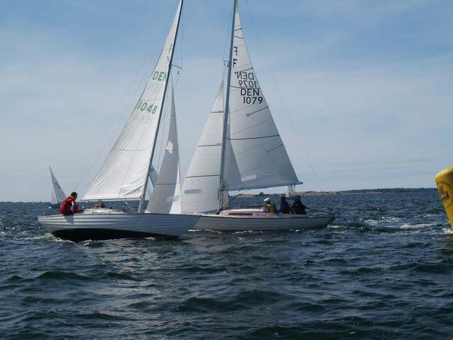 DM for folkebåde skal i år sejles ved Lynæs. Arrangørerne håber på et deltagerantal over 50 både. Arkivfoto