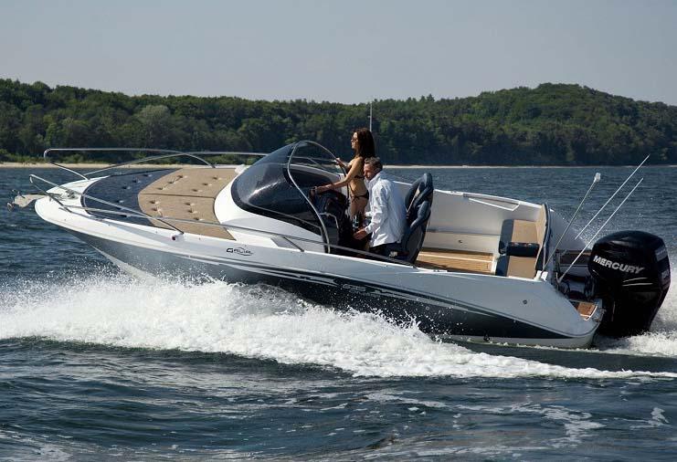 Galia 635 Cruiser koster fra 219.800 som intropris med en Mercury 115 hk.