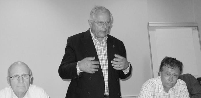Carl Gerstrøm vil blandt andet bliver husket som en høflig, venlig formand. Til dagligt bor han i Horsens, hvor han har sin Bavaria liggende til tursejlads. Foto: Troels Lykke