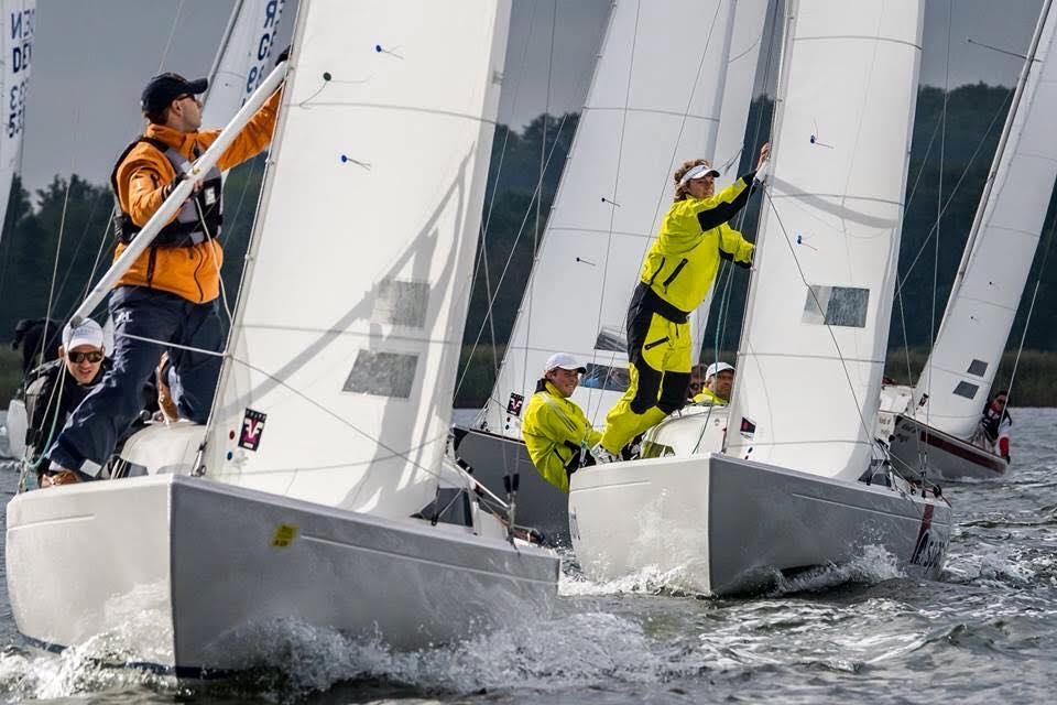Det blev til dansk sejr i det nordtyske mesterskab. Foto: Arnisser Segel-Club