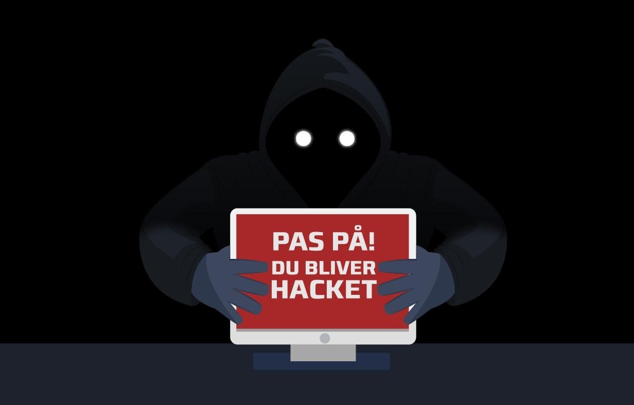 Vær på vagt sejlklubber - kriminelle hackere er ktive igen, fortæller Dansk Sejlunion i deres nyhedsbrev. Illustration: Dansk Sejlunion