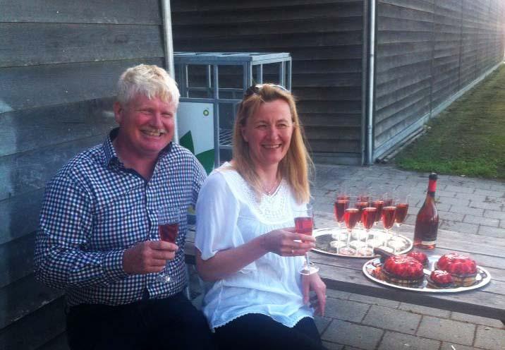Peter Heller og Annette Lykke Nielsen er utroligt lettet over dommen i går i Sø- og Handelsretten.