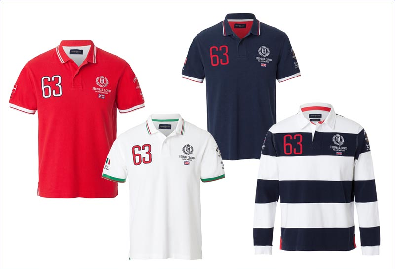 """Round the World Race"" kollektionen tæller poloer, T-shirts, rugbys, sweatshirts og shorts."