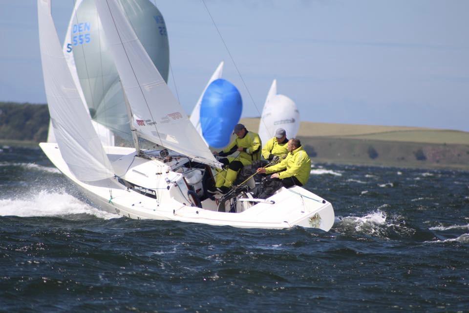 Claus Høj Jensen er blandt de store favoritter til at tage den eftertragtede VM-titel. Foto: Høj Jensen Sails / Facebook