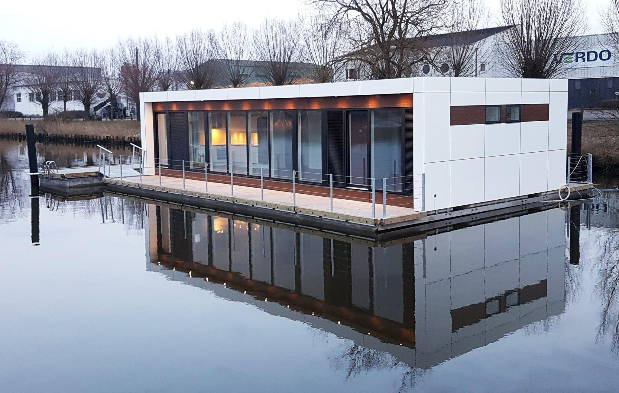 Husbåden fra Zunshine Living har været 4 år undervejs og udviklingen har kostet 7 mio. kroner. PR-foto