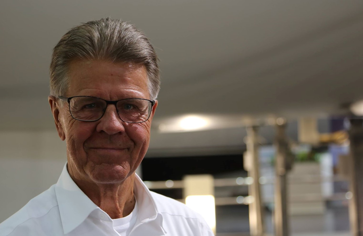 Ib Kunøes mantra er »Brains, balls and heart«. Han er Han er uddannet officer af A-linjen og læste sideløbende med sin militærkarriere HD i organisation. Foto: Troels Lykke