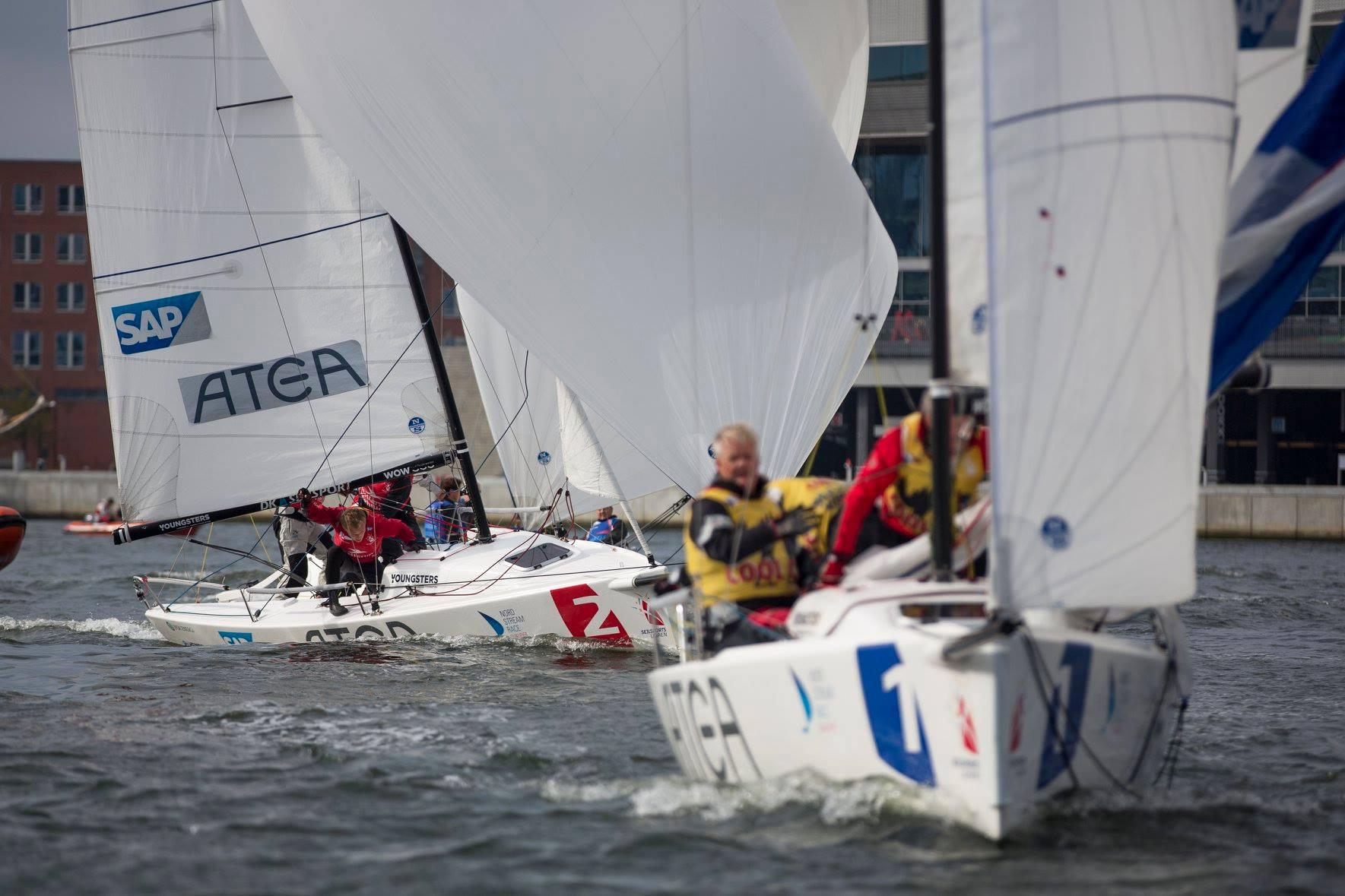 Der er udsigt til yderligere vækst i det danske J/70-miljø, som efterhånden nærmer sig 50 både i klubregi. Foto: Frederik Sivertsen/Dansk Sejlunion