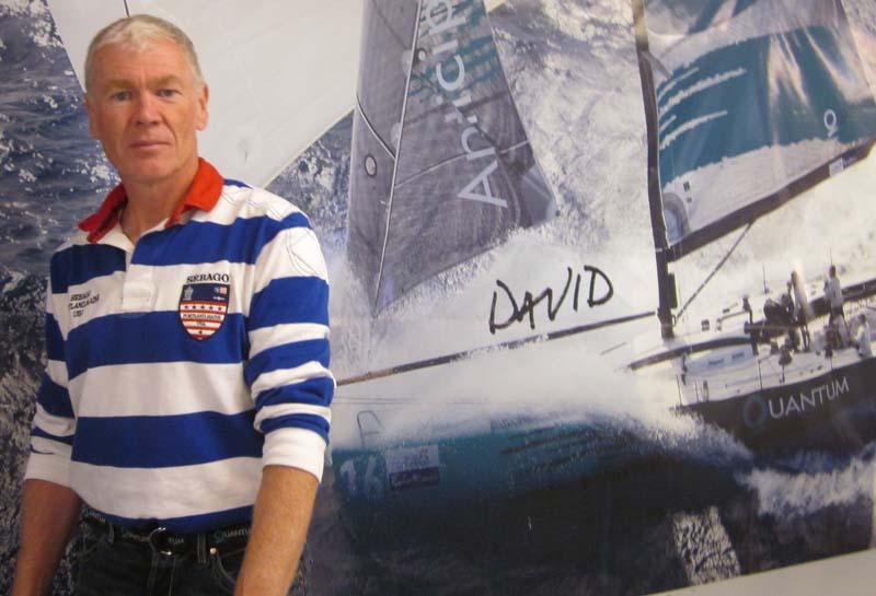 Jan Hansen fra Quantum Sails er nu ny formand for Danboat og afløser Lars Ive fra North Sails. Foto: Troels Lykke