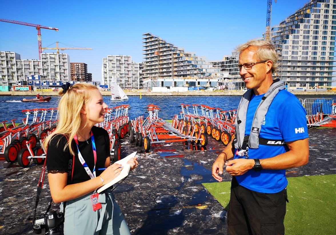 I alt otte ramper er bygget til verdensmesterskabet i Aarhus. Foto: Troels Lykke