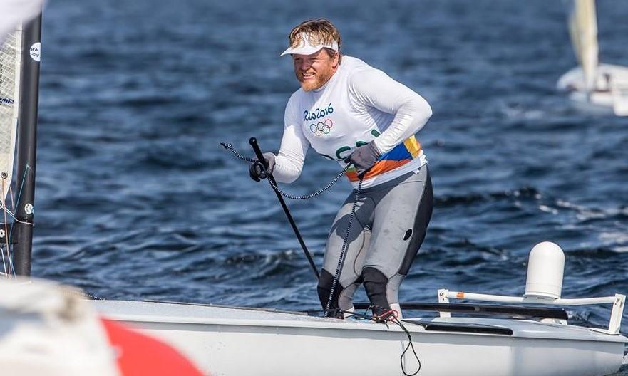 Jonas Høgh under OL i Rio 2016. Et mesterskab, der tilsyneladende bliver sejlerens sidste. Foto: World Sailing